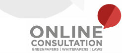 Logo for the Online Public Consultation