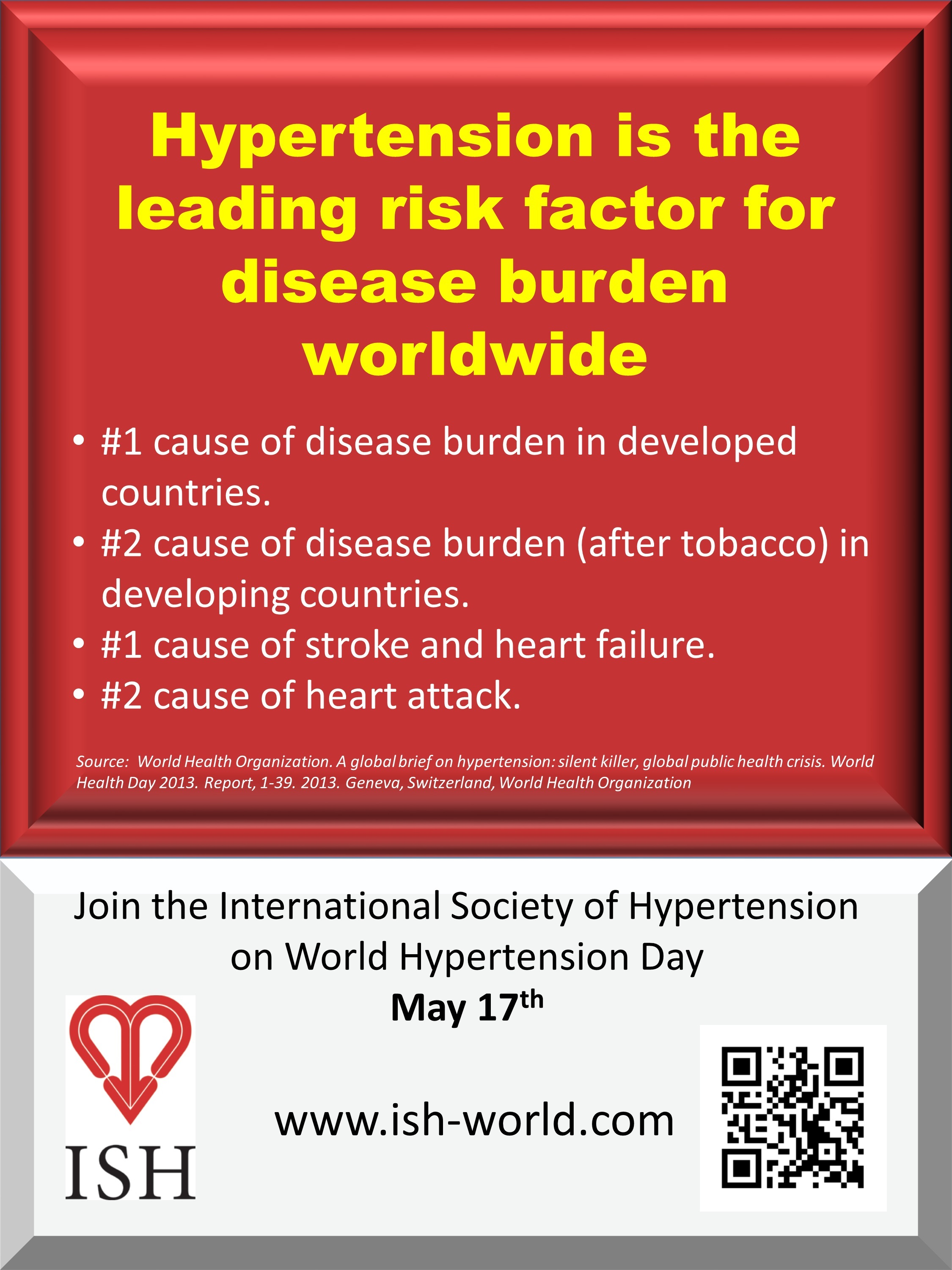 World Hypertension Day 2016