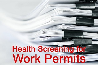 An image for the Health Screening for Work Permits