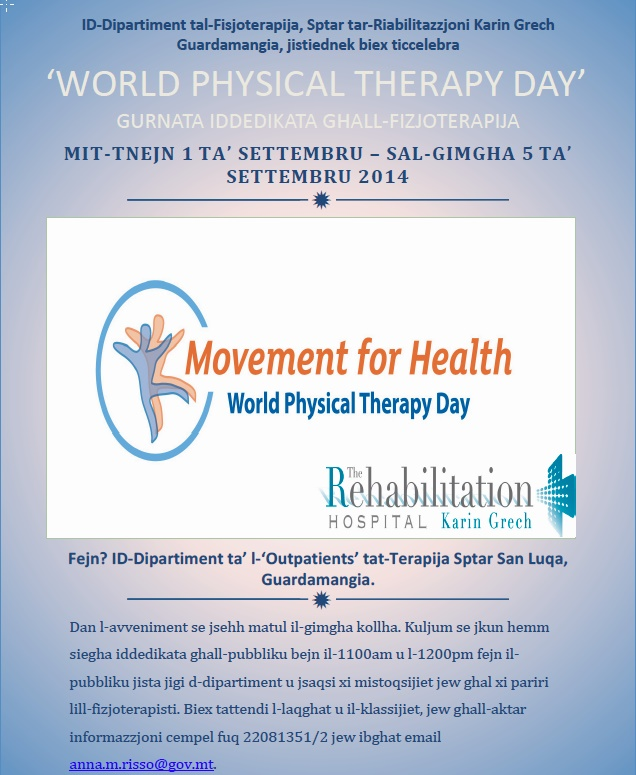 World Physiotherapy Day Poster