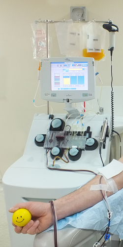 The Process of Donating Platelets