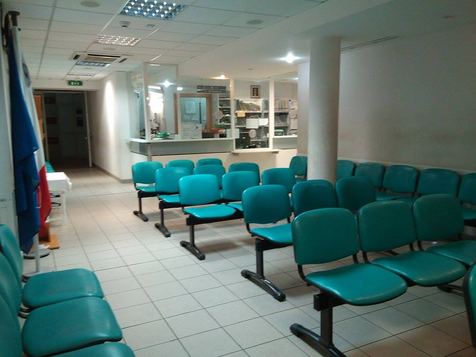 Image showing waiting room and acute reception area