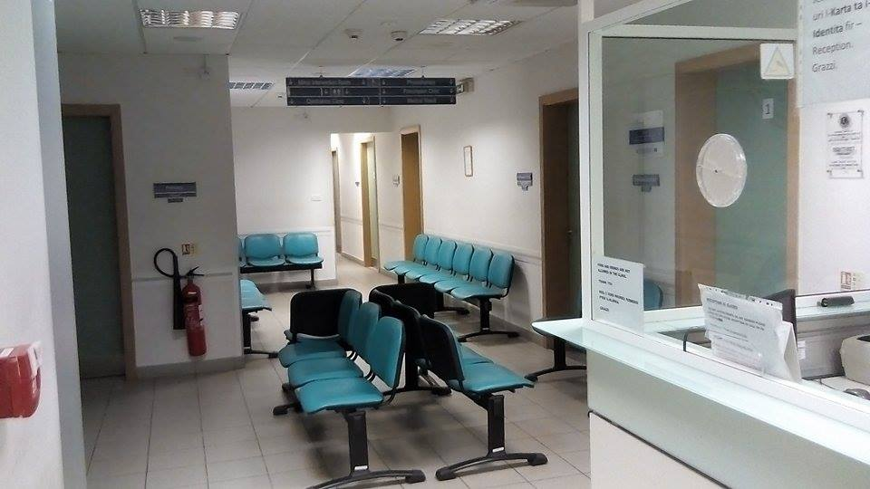 Image showing follow up and specialist clinics reception area